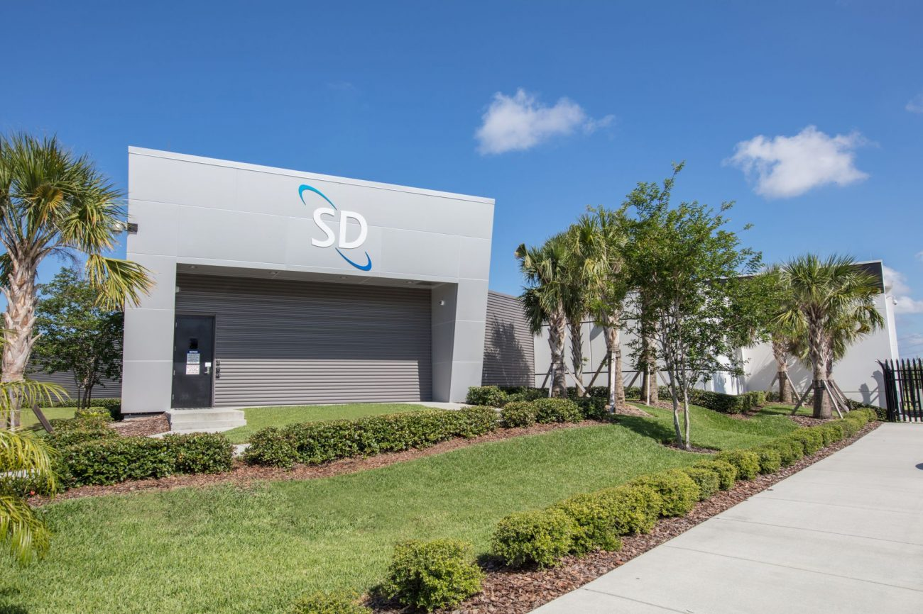 SD Data Center Building Photo